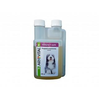 ARIOVITAL Biotyna + Cynk 250 ml