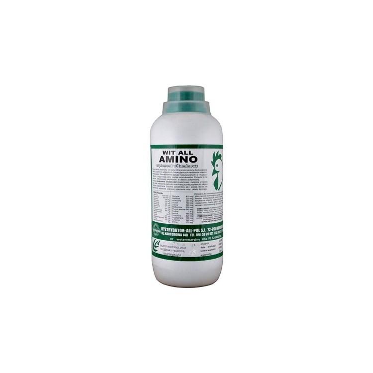 AMINO: zestaw witamin i aminokwasów