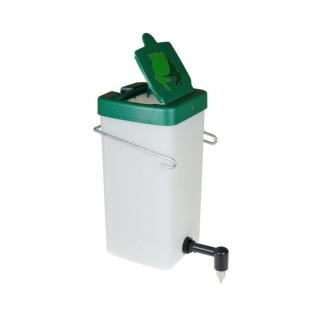 Poidło 1,0 litr  90 st. (biało - zielone)